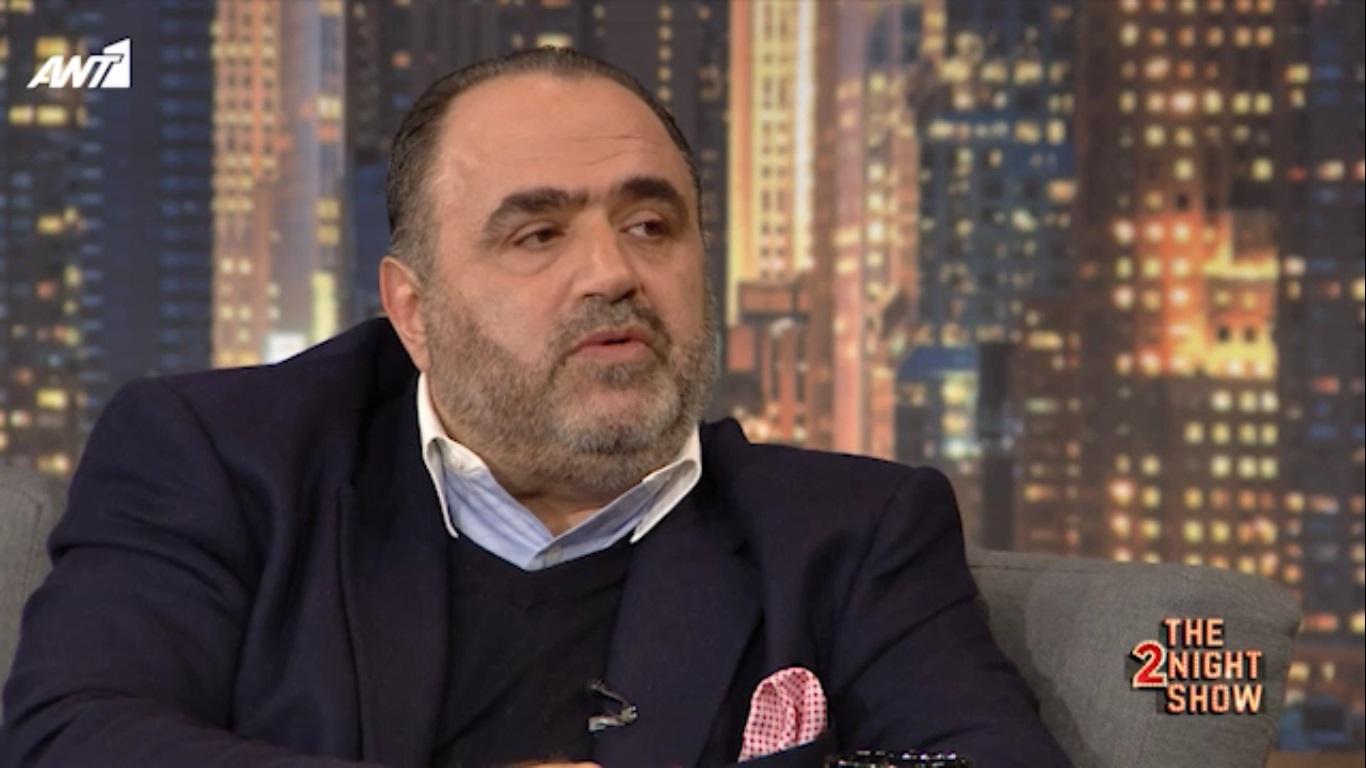 H συνέντευξη του Μανώλη Σφακιανάκη στο The2nightshow & τον Γρήγορη Αρναούτογλου