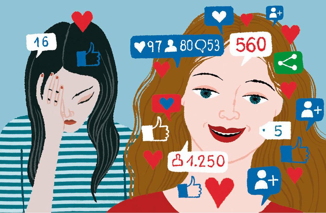 Mήπως η αλόγιστη χρήση των social media σε κάνει δυσλειτουργικό/η;