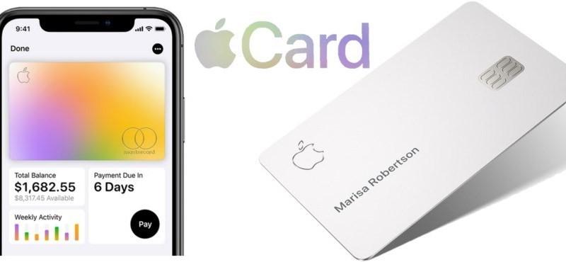 Apple Card: Μην αγγίξει σκληρή επιφάνεια