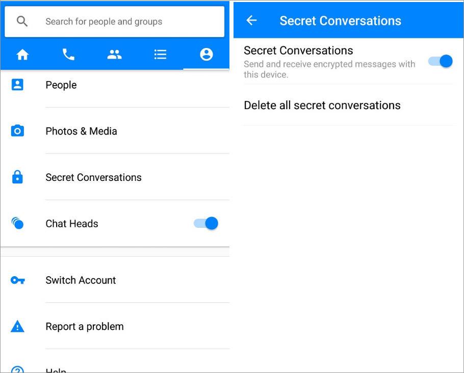 Όσα πρέπει να ξέρετε για τις μυστικές συνομιλίες του Messenger